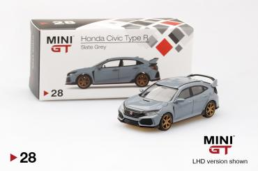 Honda Civic Type R (FK8)  Slate Grey w/ TE37 Wheel - LHD
