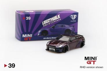 LB★WORKS Nissan GT-R (R35) Magic Purple