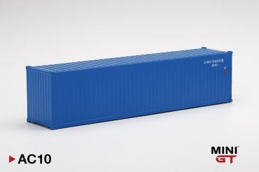 Dry Container 40' Blue