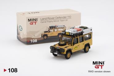 Land Rover Defender 110  1989 Camel Trophy Winner