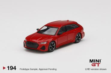Audi RS6 Avant Carbon Black Edition Tango Red