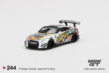 LB★WORKS Nissan GT-R R35 Type 2 Rear Wing ver 3